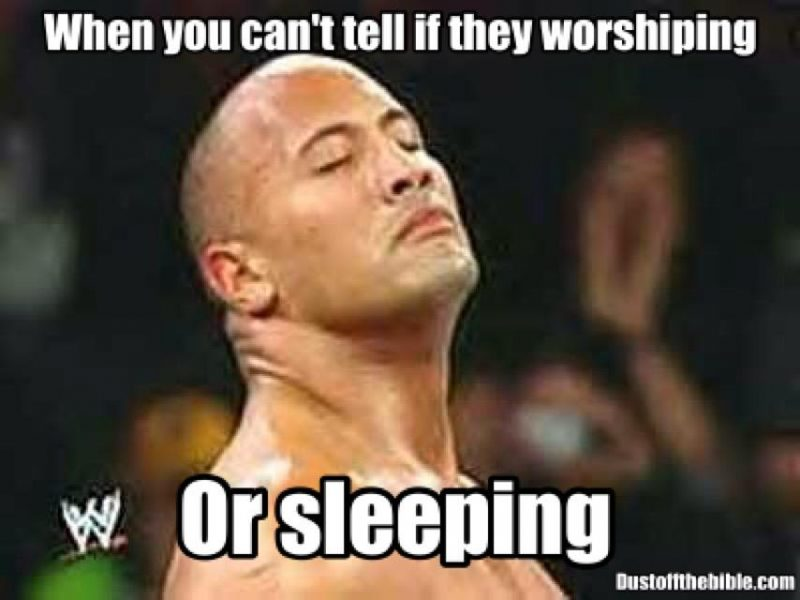 Things I Think About In Church