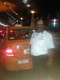 Malaysia cabbie