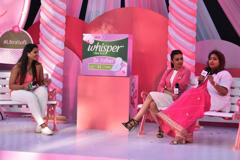 Whisper Ultra Soft – Launch With Radhika Apte
