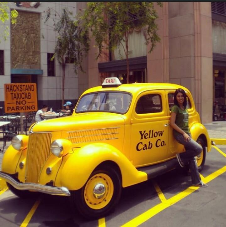 Singapore Yellow taxi