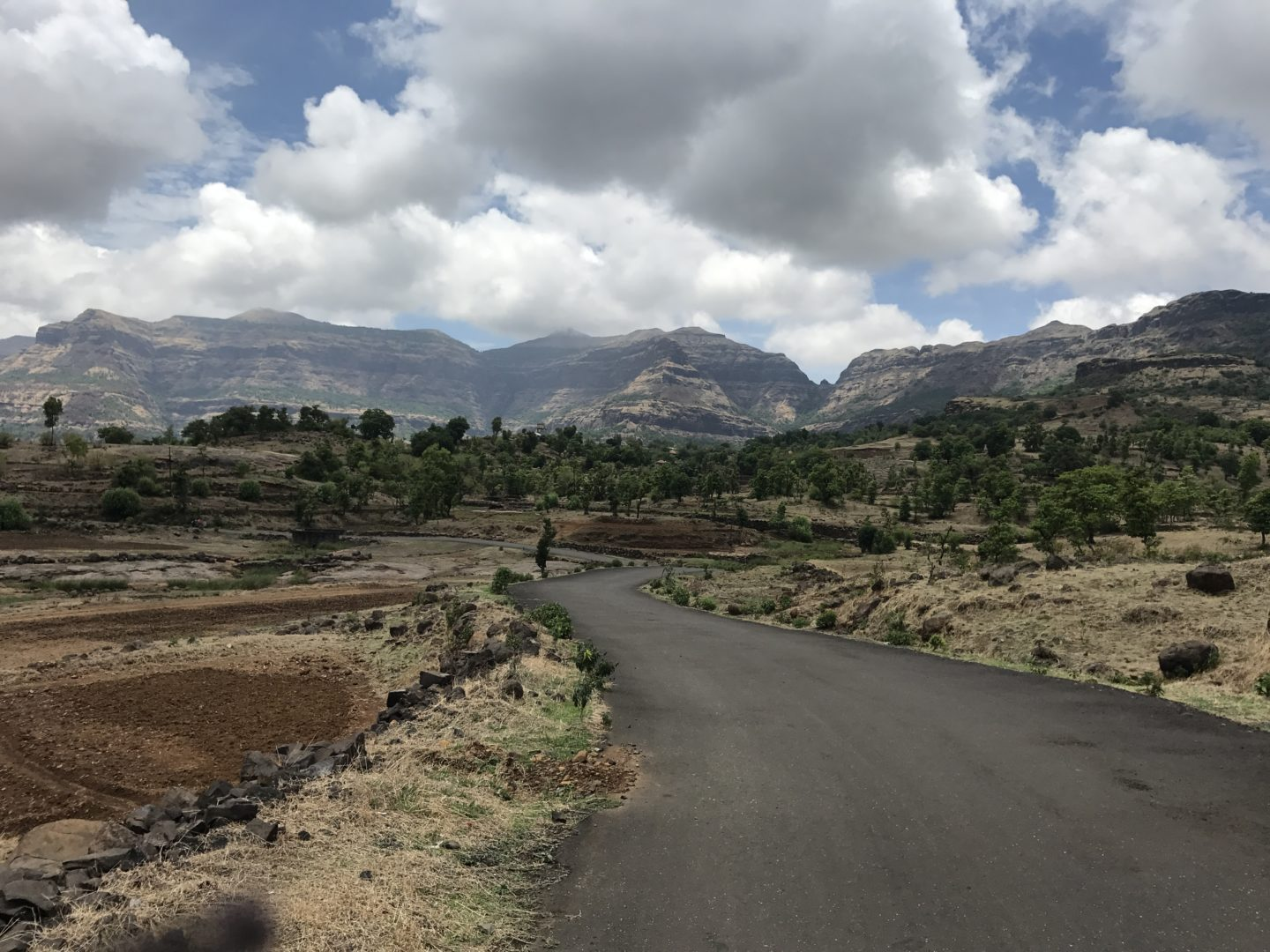 bhandardara winding roads