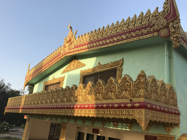 gorai pagoda interiors