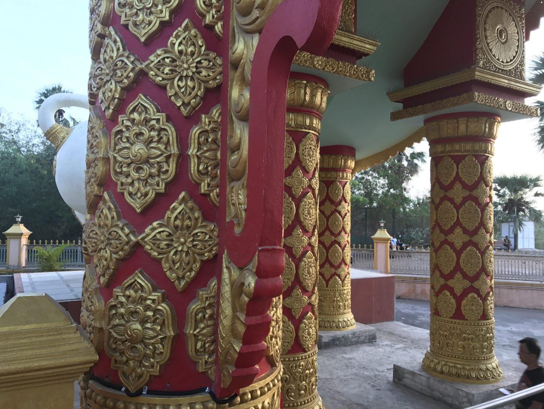 gorai pagoda pillars