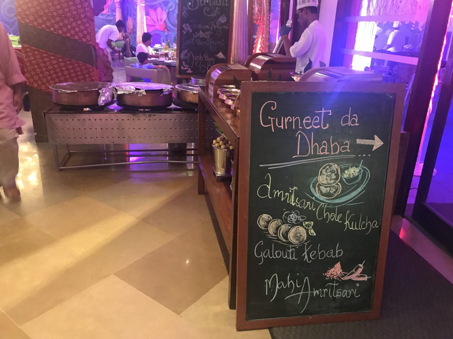 gurneet dhaba marriott goa