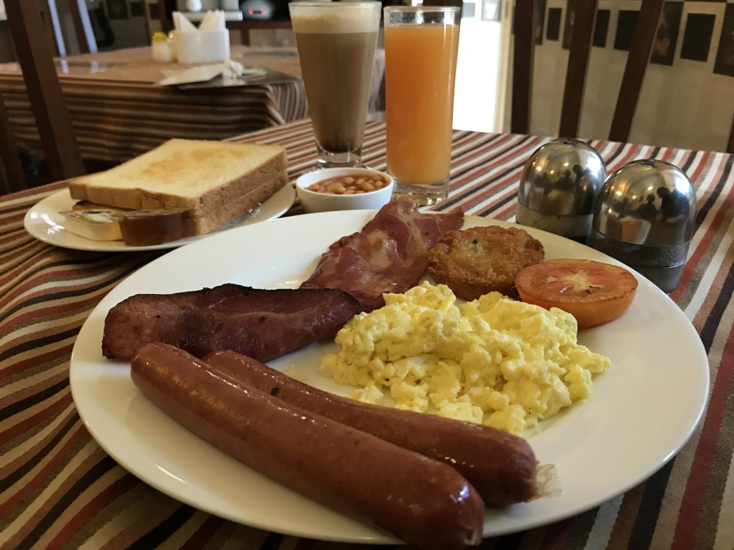 all day english breakfast caravela cafe