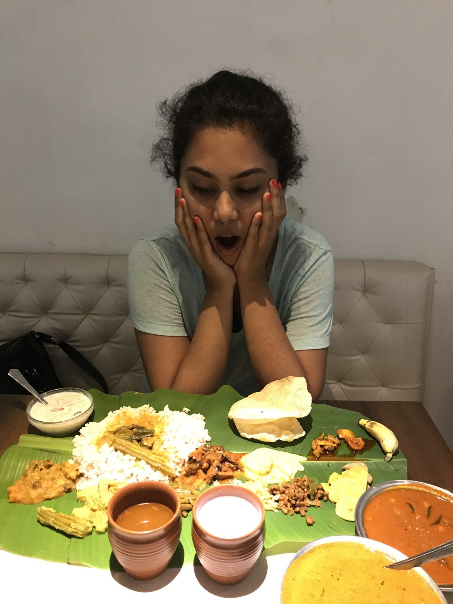 sadhya thali just kerala