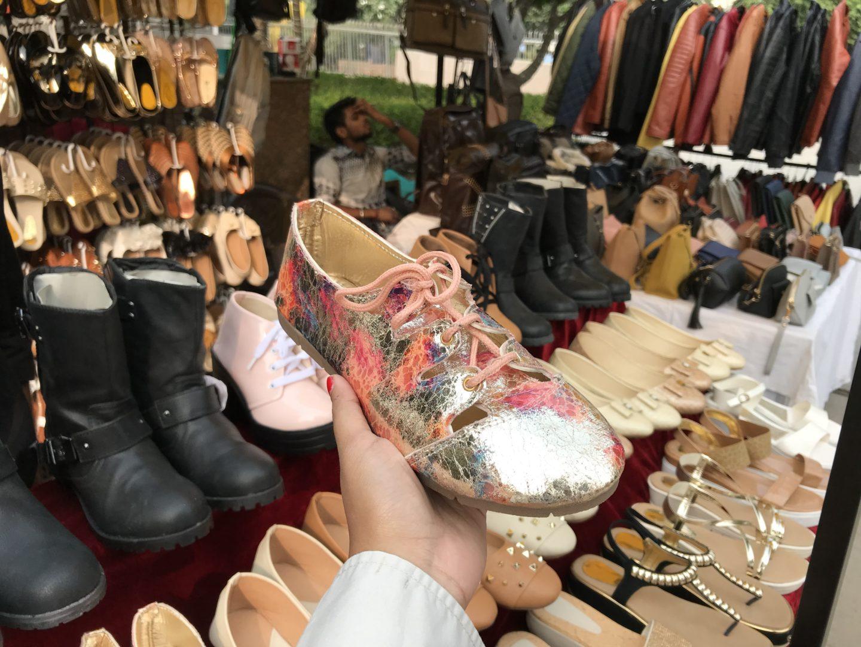 handicraft shoes delhi