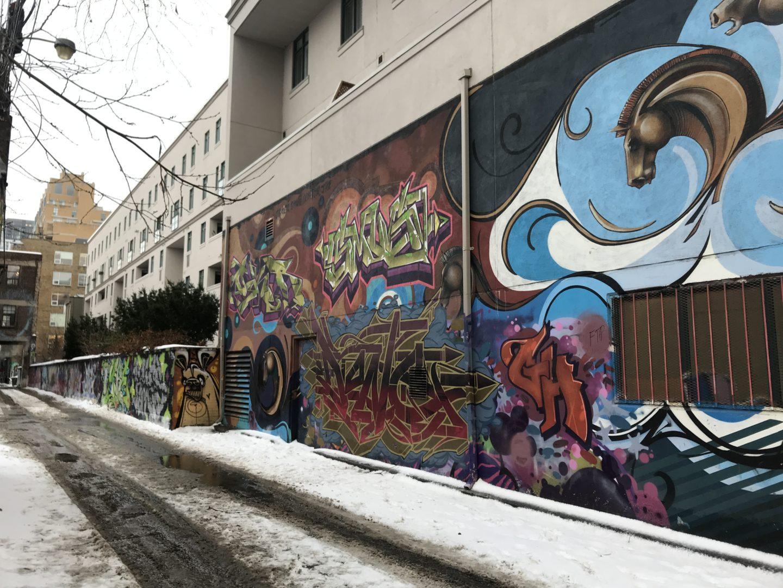 graffiti alley ontario