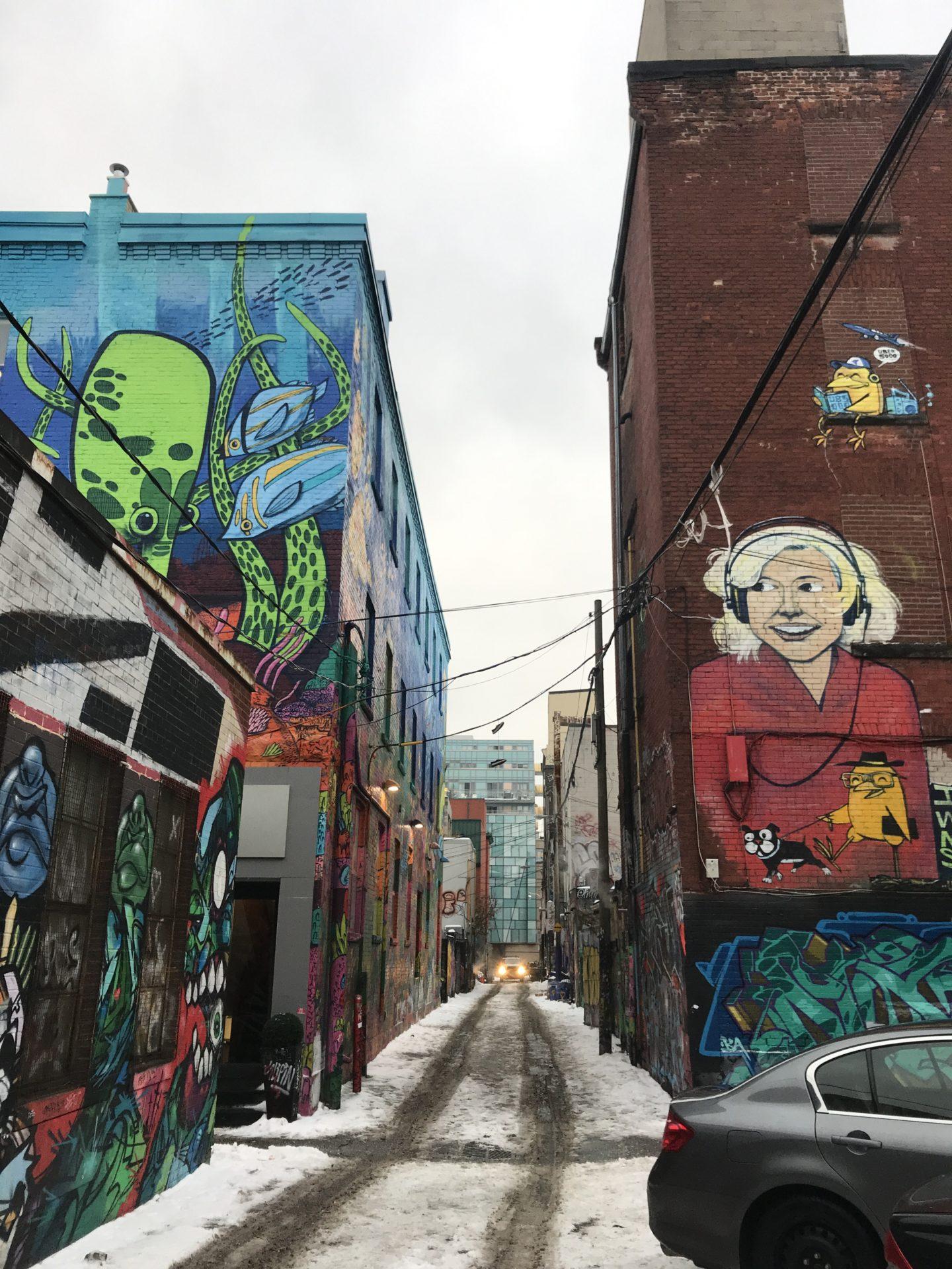winter queens street