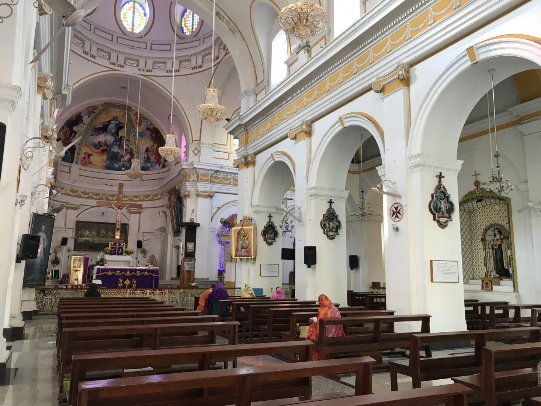 pondi church
