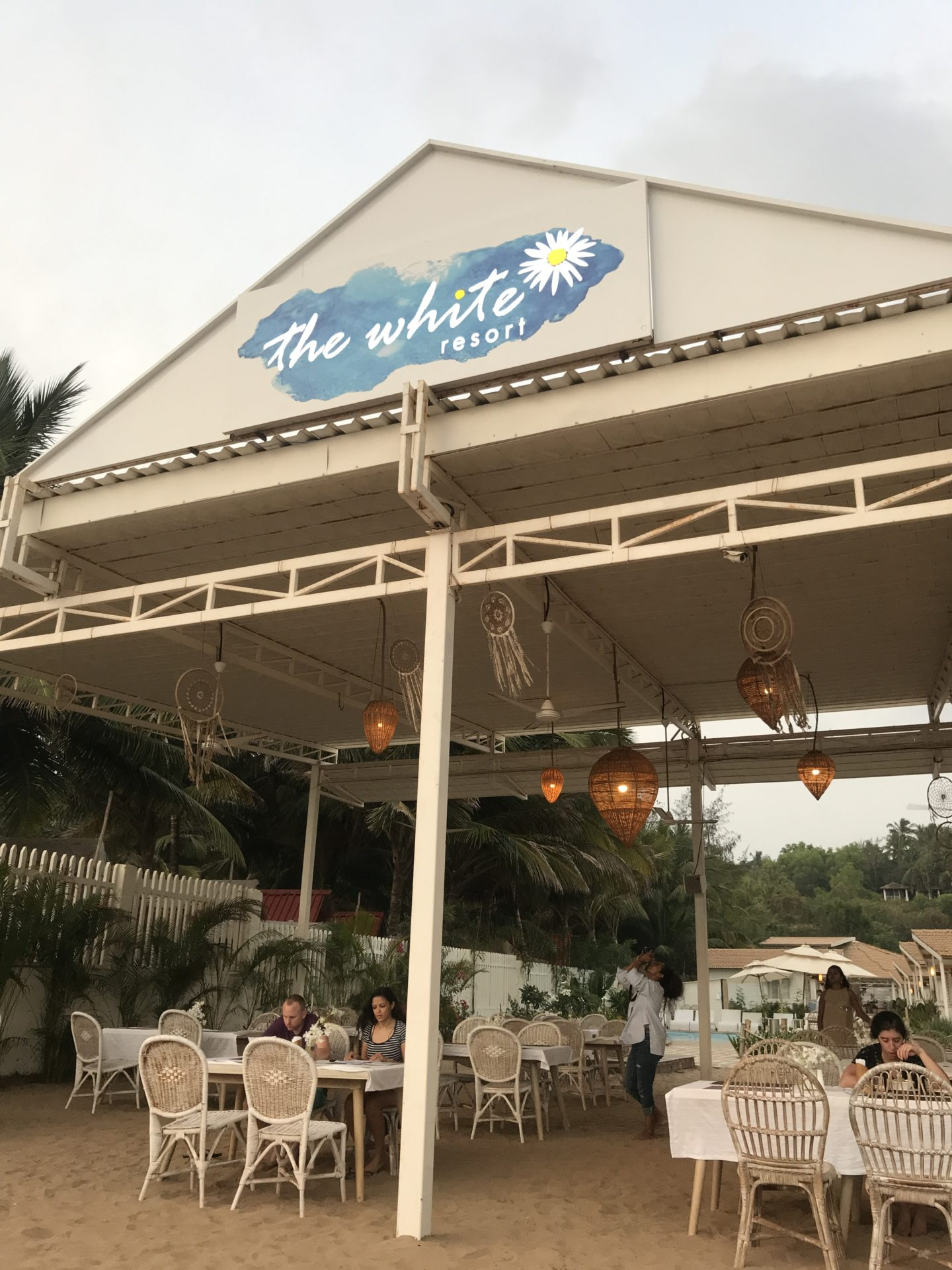 the white restaurant