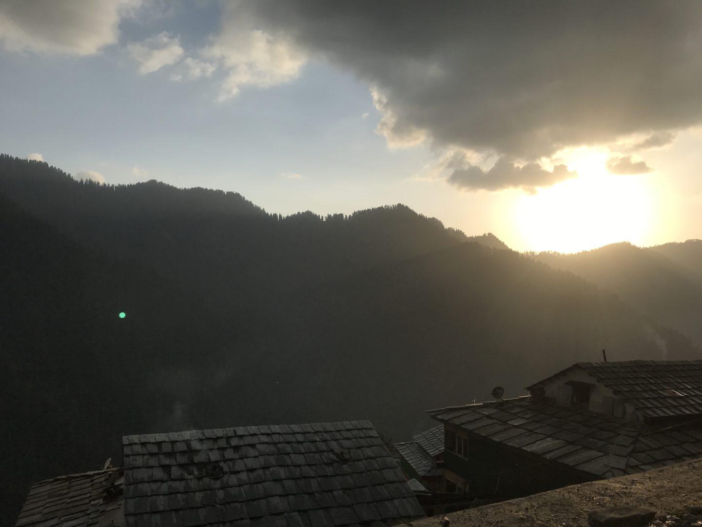 jibhi at sunrise