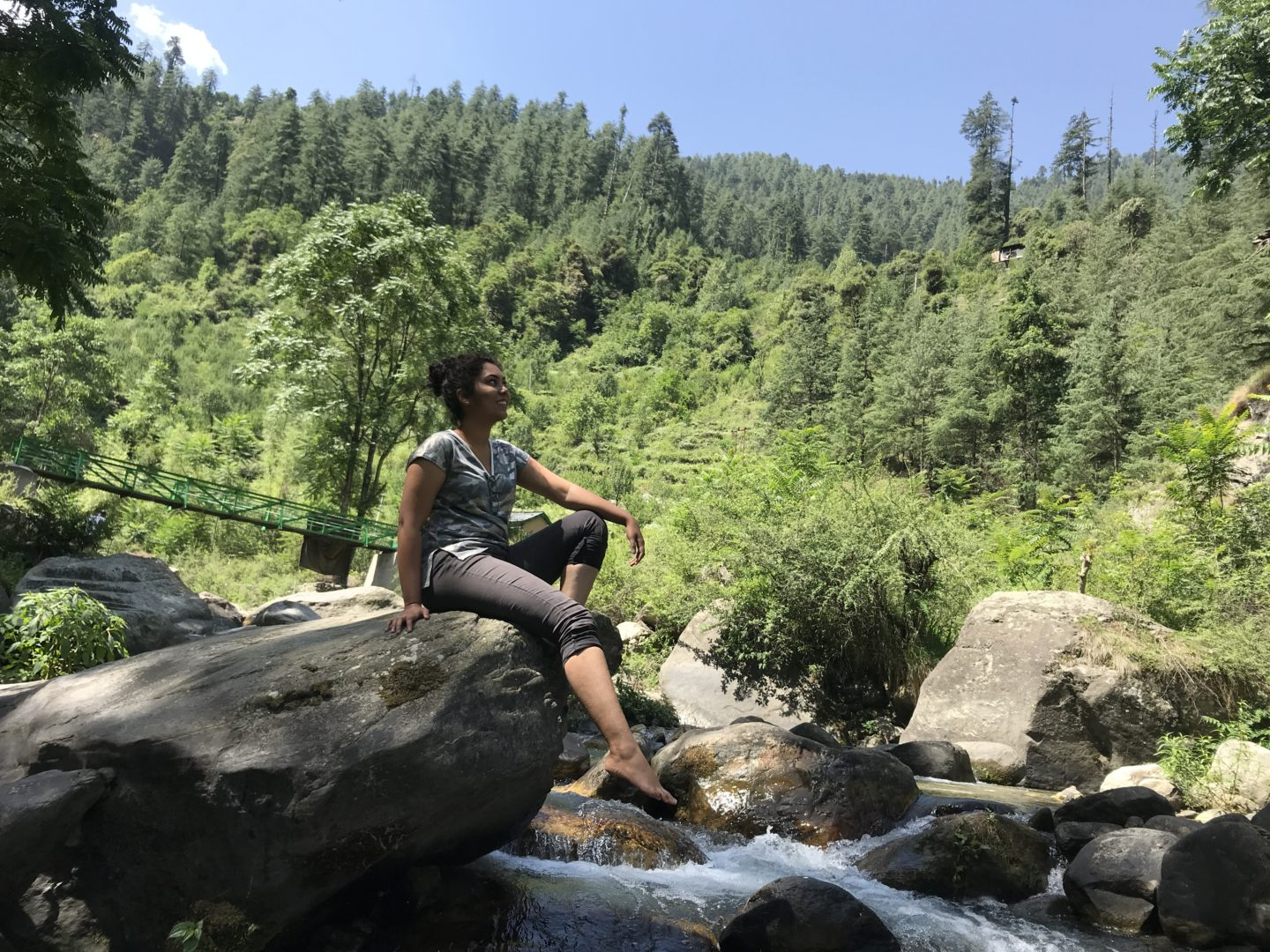 Stay at OffBeat Footprints, Jibhi for a local Himachali experience