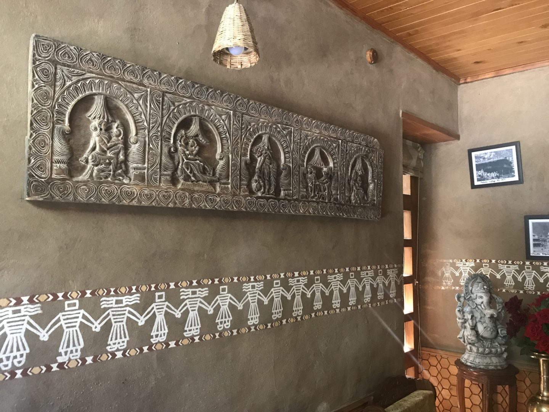 himachal wall paintings