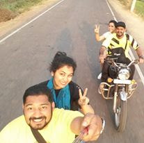 BULLETEERING TO HAMPI