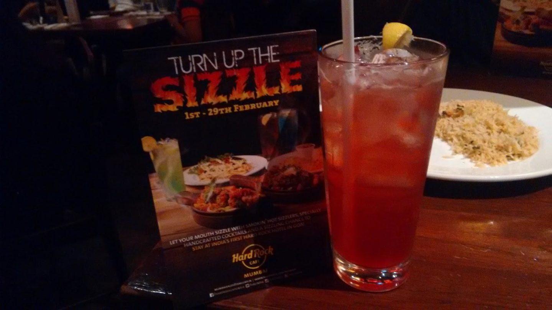 Sizzlin' At Hard Rock Cafe