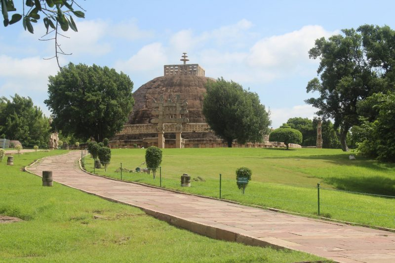 SANCHI STUPA – BUDDHISM SEALED IN STONE