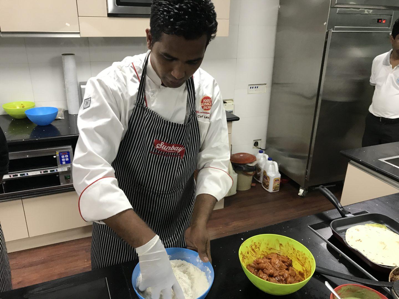 food service india chef