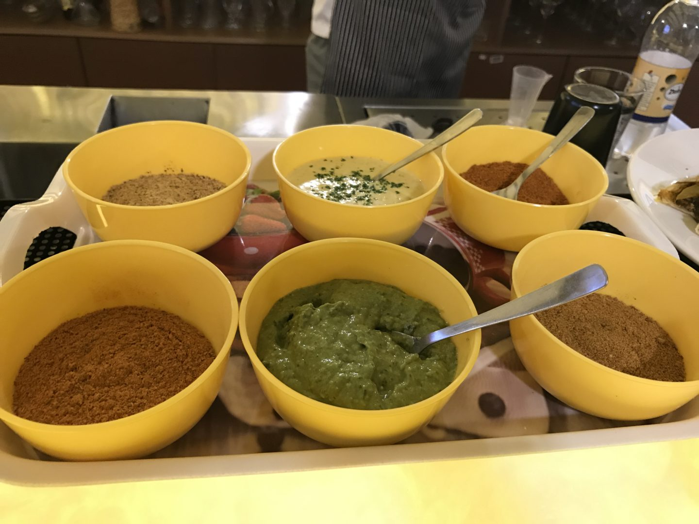 food service india dips