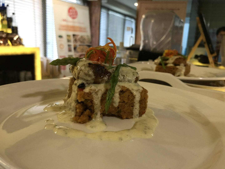 quinoa and sea bass Food service india