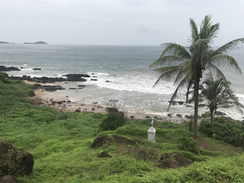 Grandmother's Hole Beach – one of Goa's many hidden gems