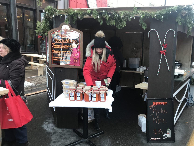 stall milton market