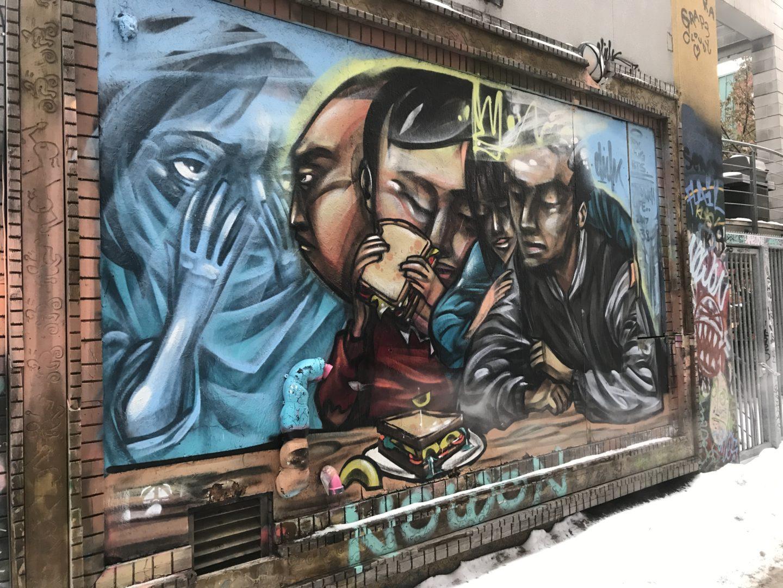 queen street graffiti