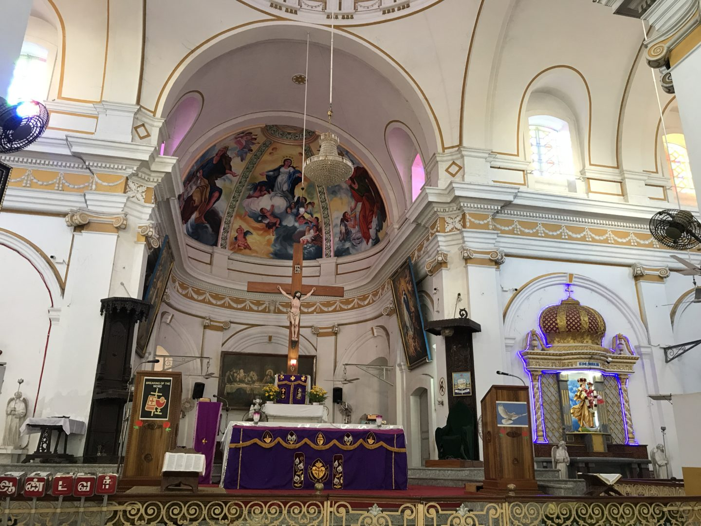 immaculate conception church pondy