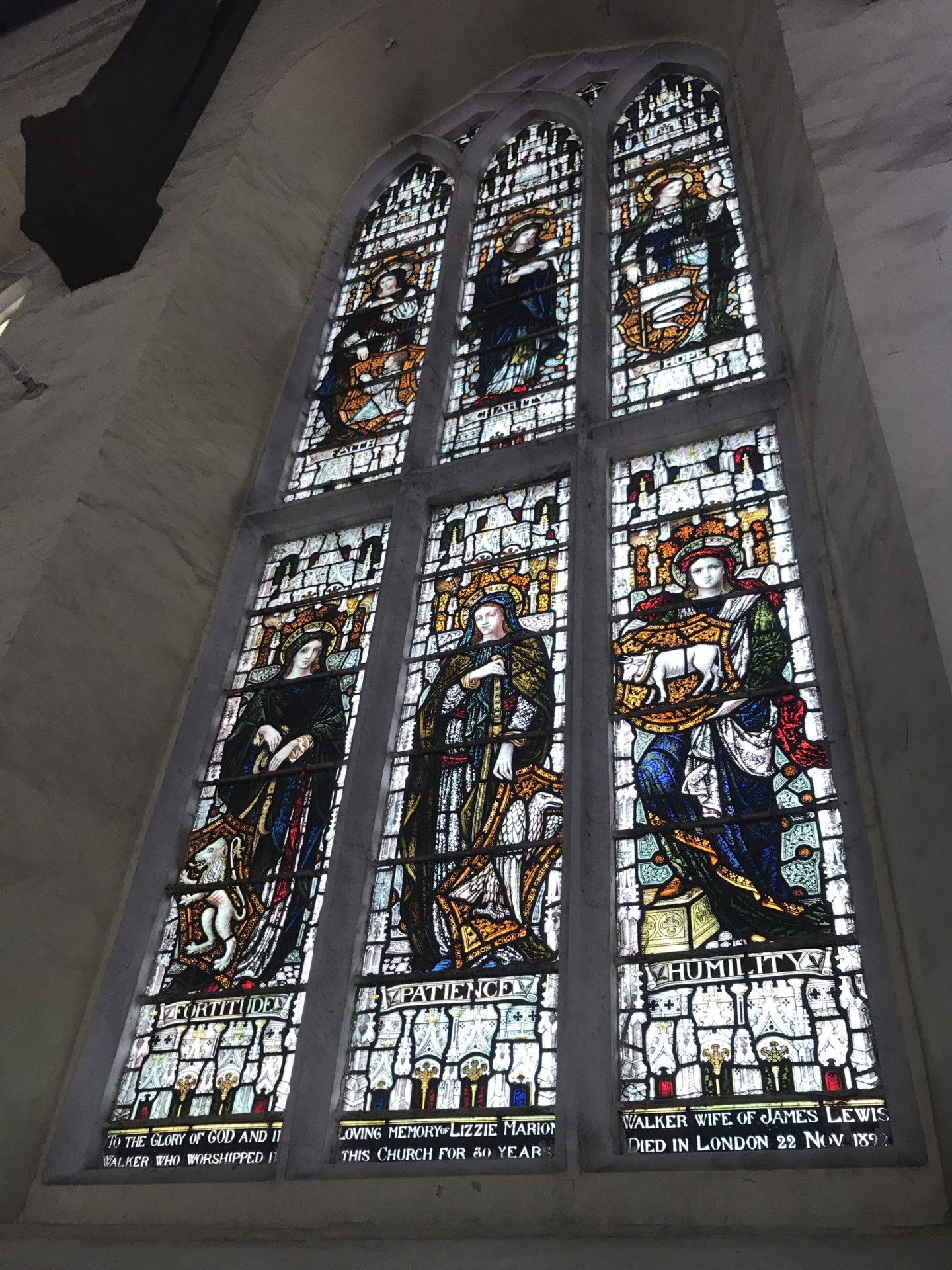 Christ church windows