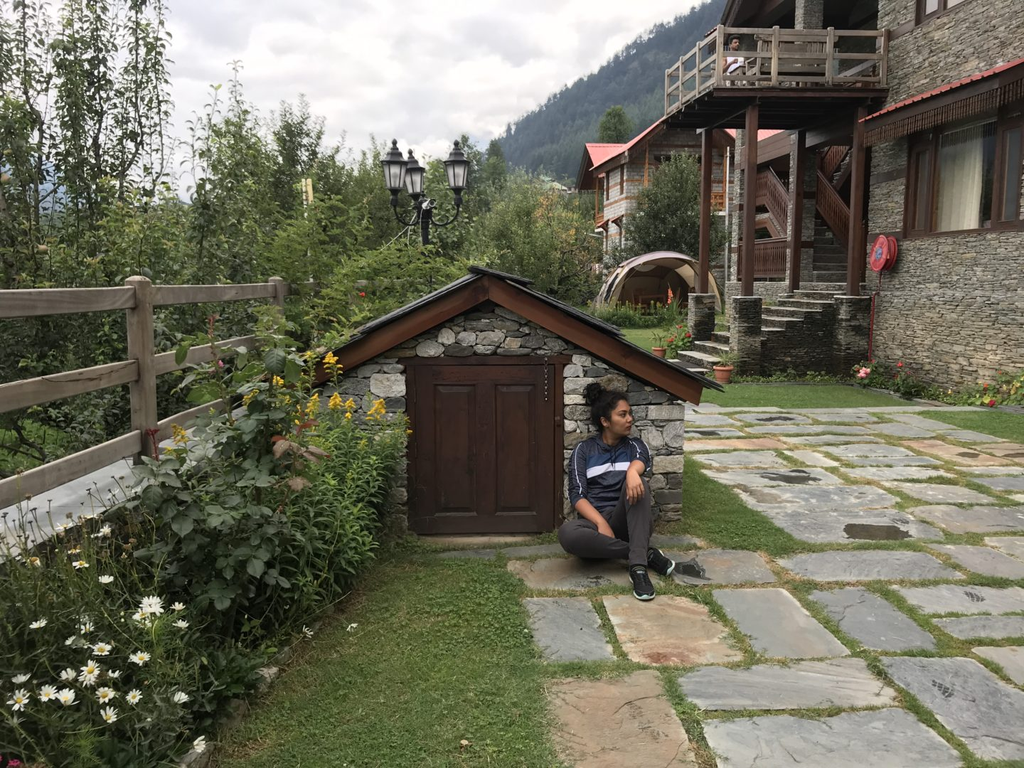 water harvesting manali resort