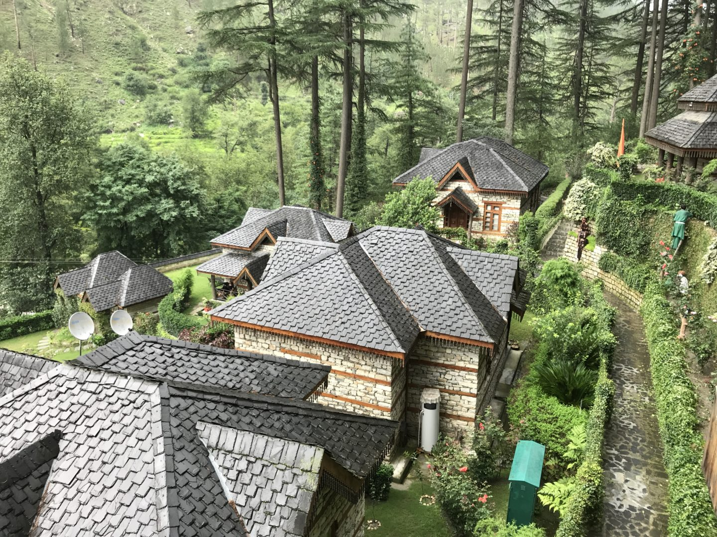 The himalayan village view