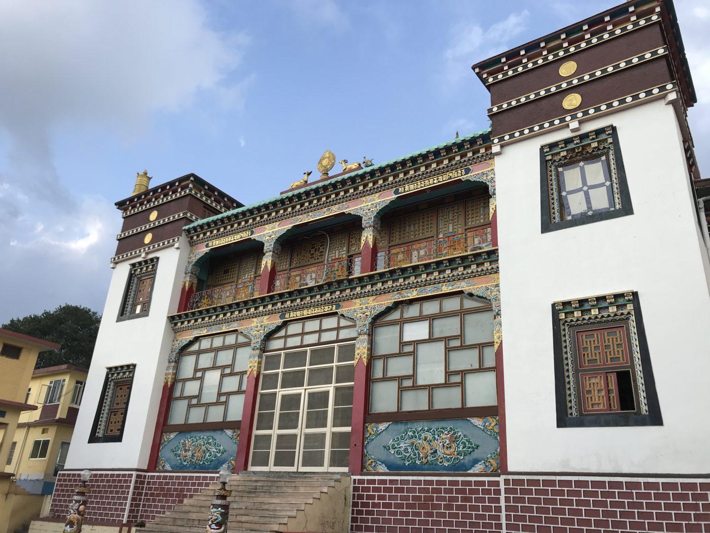 Nyingma bir monastery