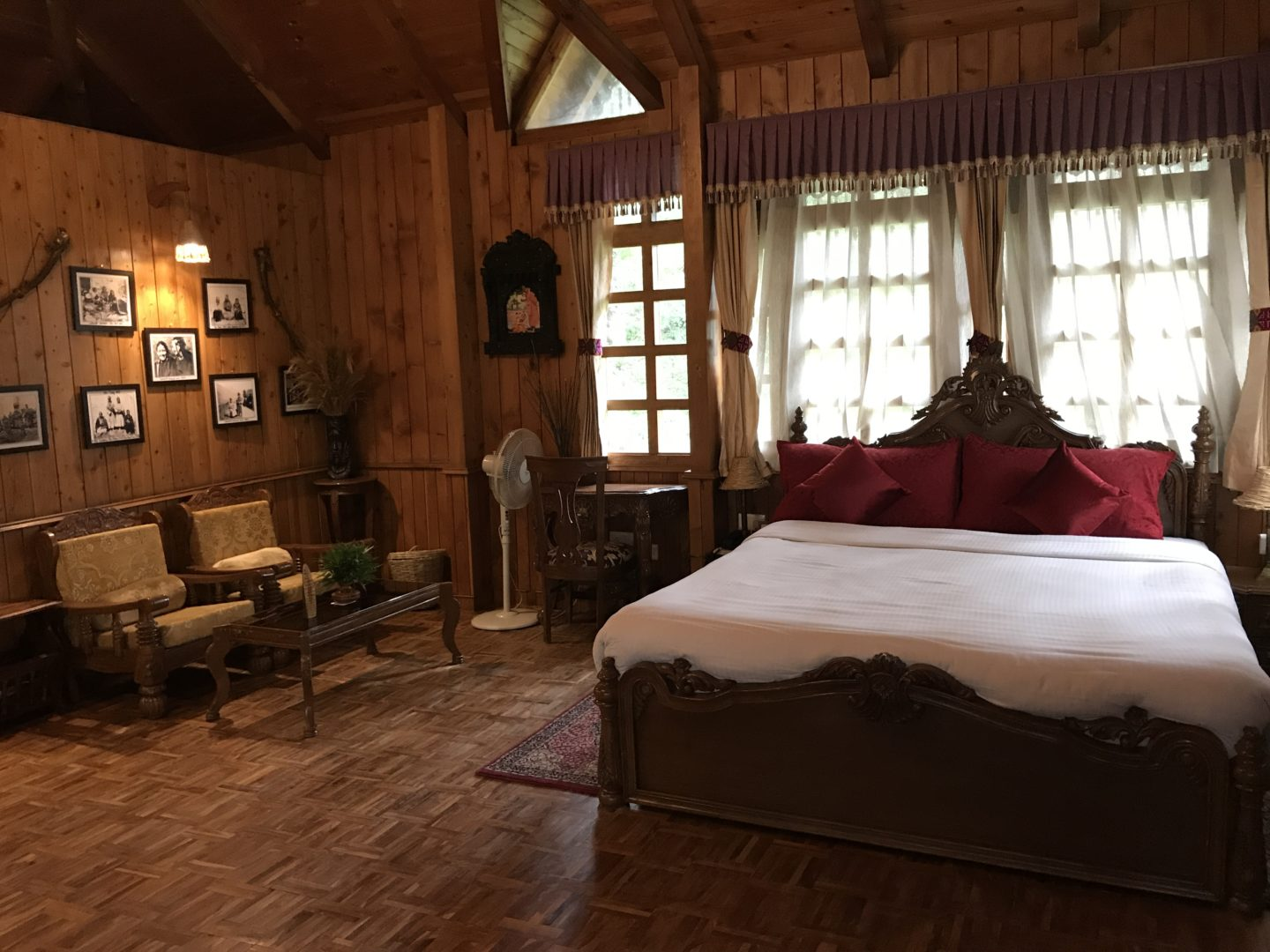 himalayan village room