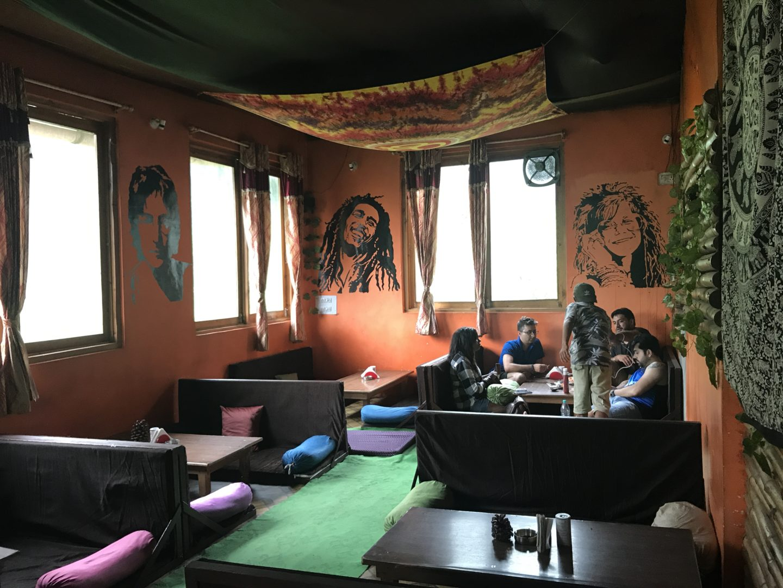 m morrison cafe best cafe in kasol