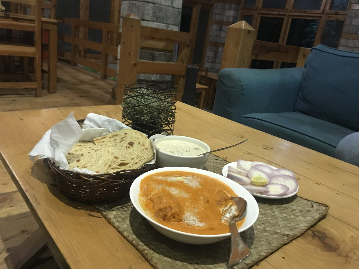 best indian food in manali