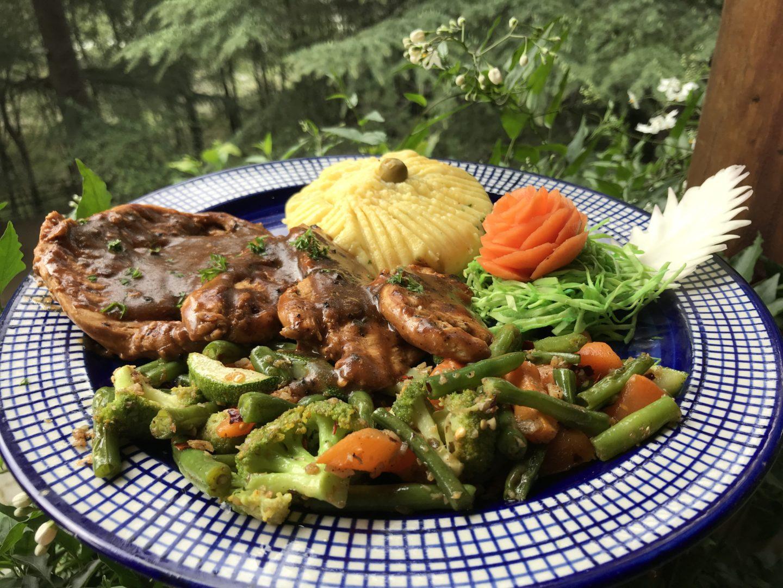 food at tall trees manali