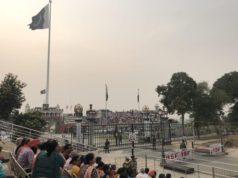 wagah border tour