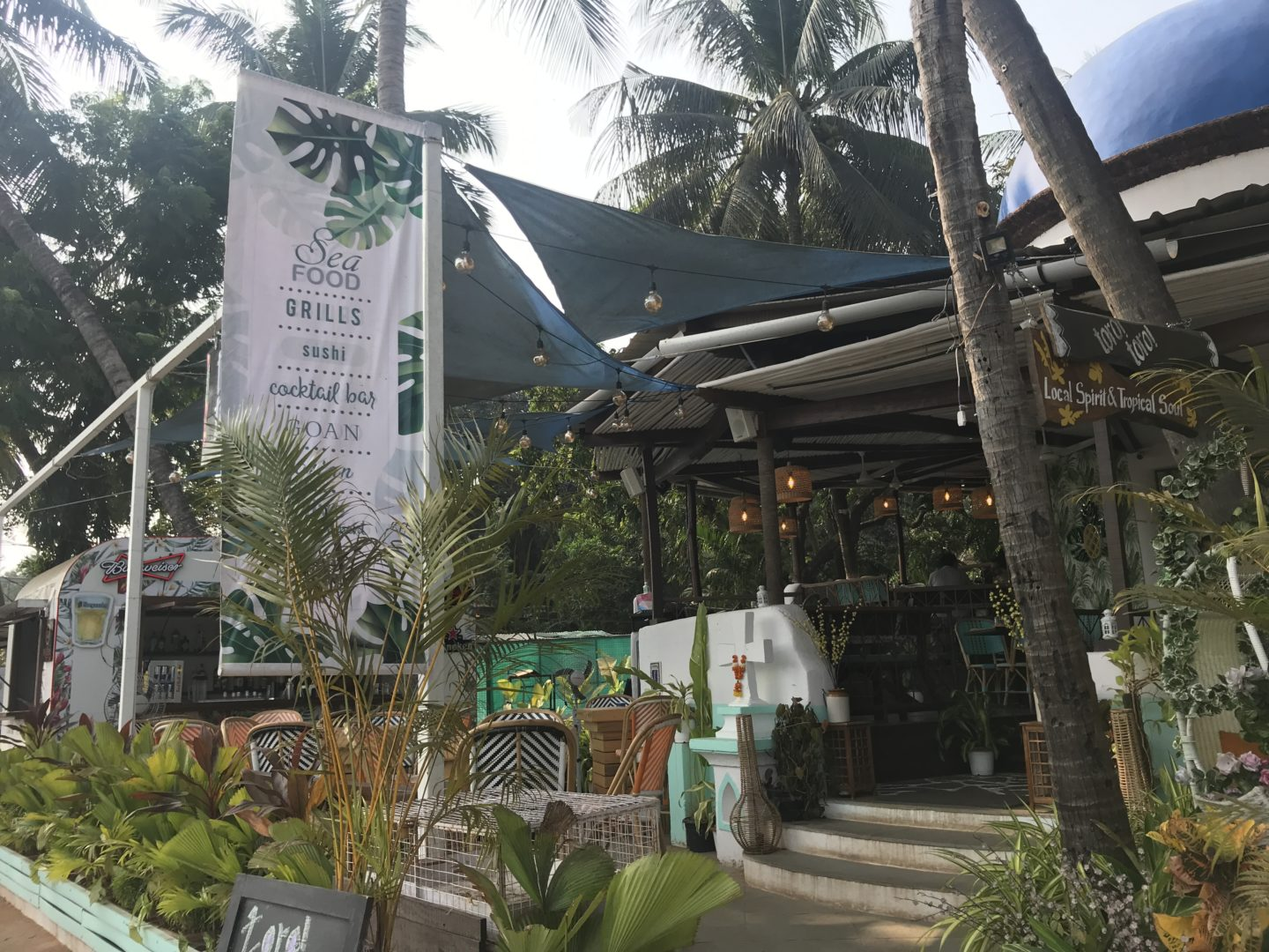 continental restaurants in goa
