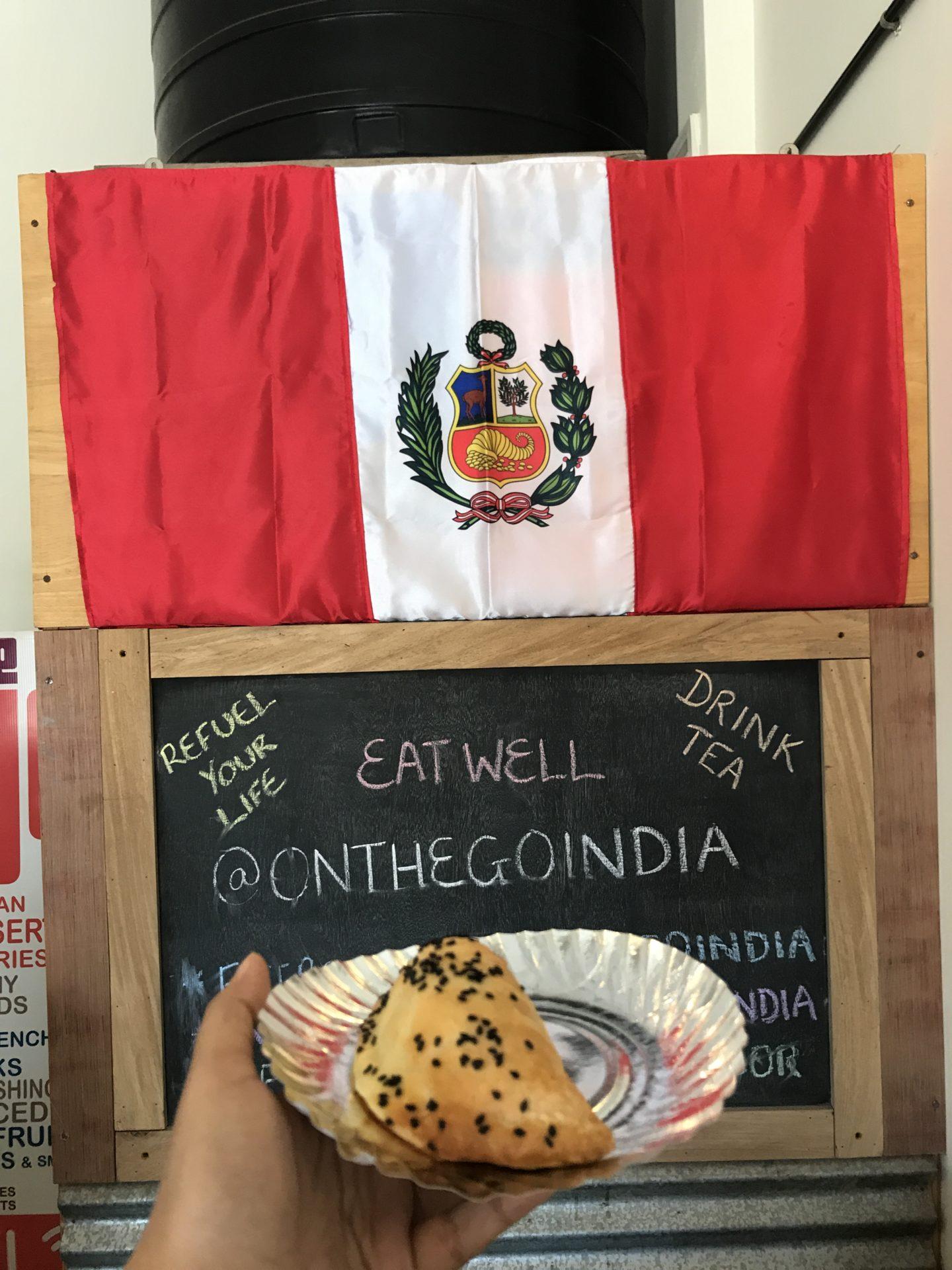 empanada peruvian food in goa