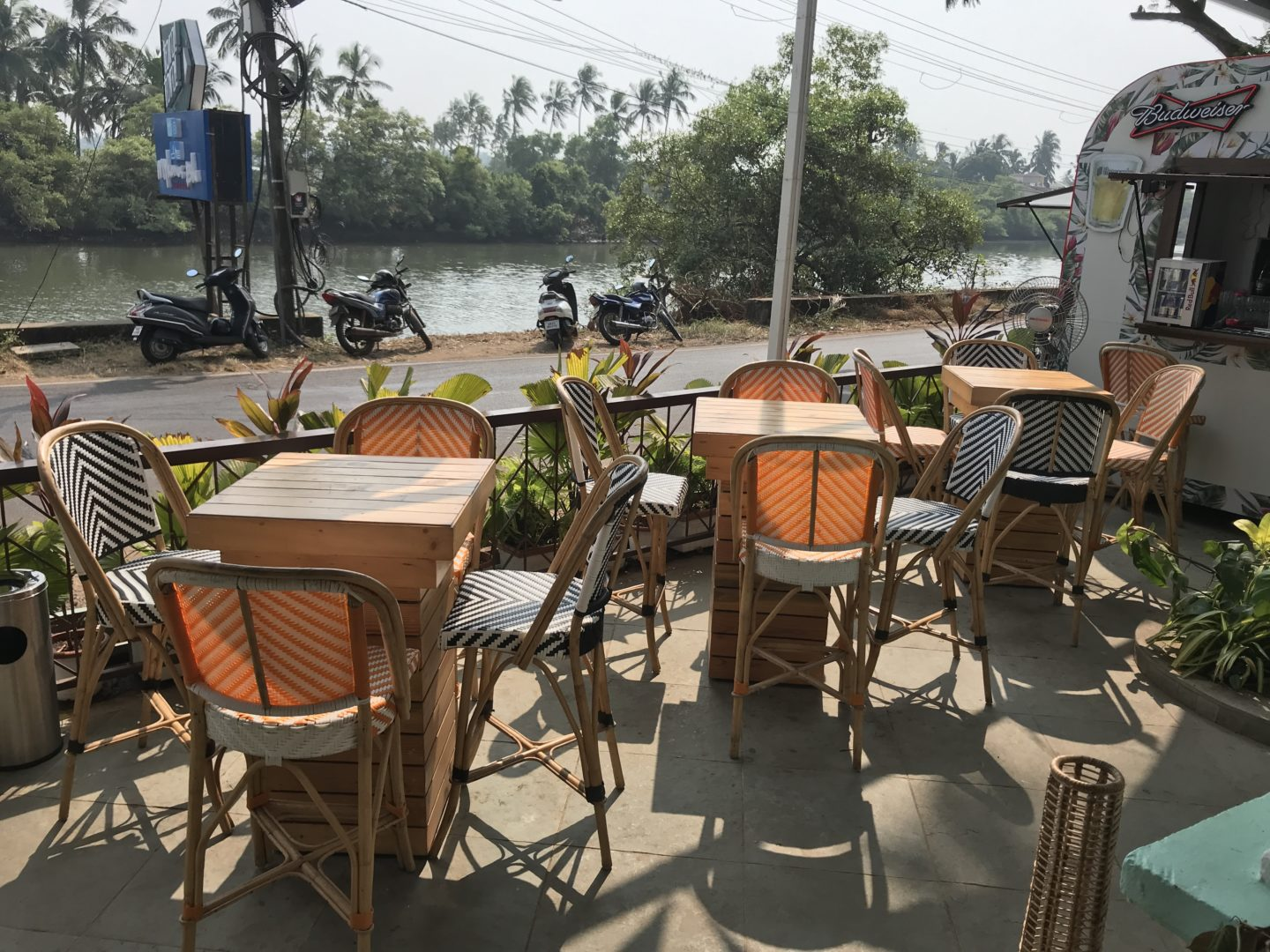 estaurants with a view in goa