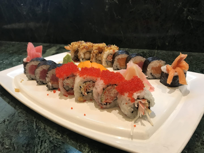 sushi in goa