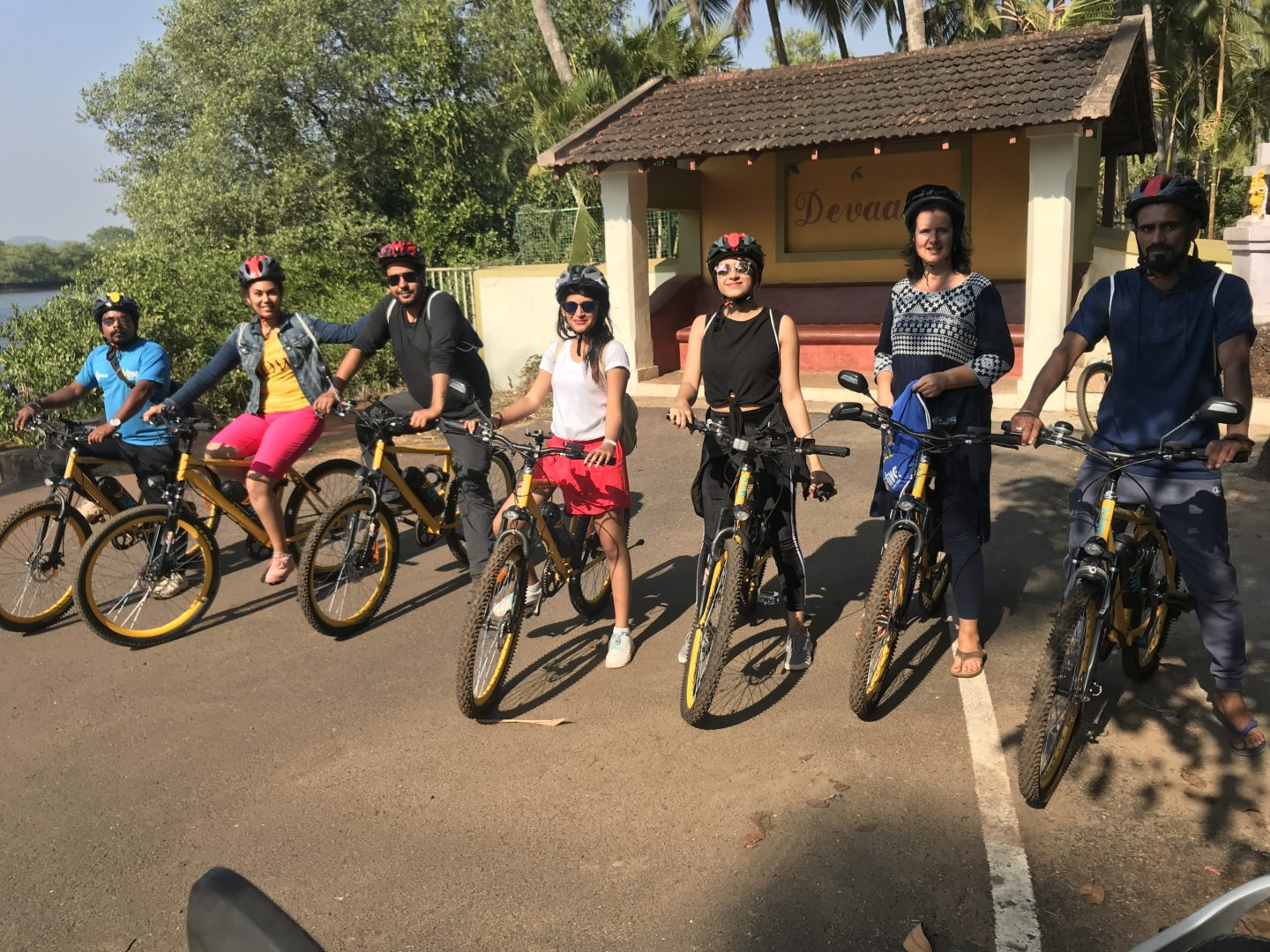 cycle tours in goa