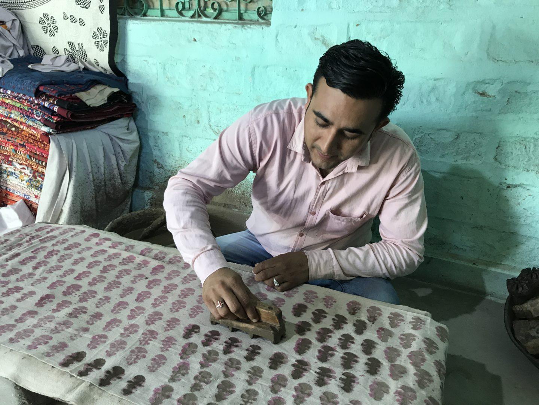 block printing tour jodhpur